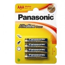 Blister 4 Pile Ministilo Alkaline Aaa 1,5V Panasonic
