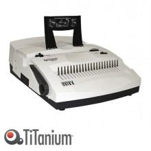 Rilegatrice Elettrica Combinata Ec21+4 Titanium