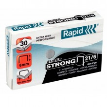 Scatola 1000 punti SUPER STRONG RAPID 21/6 (6/6) (conf. 5 )