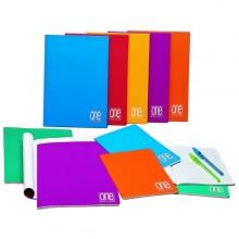 Quaderno A5 4Mm 20Fg+1 80Gr One Color Blasetti (conf.10)
