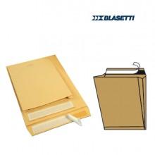 250 Buste Sacco Avana 100Gr 230X330X40Mm C/Soffietti Strip Monodex