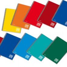 Quaderno A5 Spiralato 1Rigo C/Fori 80Gr 60Fg One Color Blasetti (conf.5)