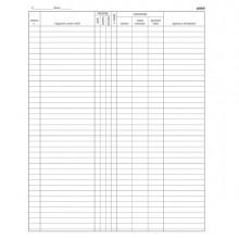 Registro Arrivi Partenze 31X24.5Cm 46Pag E2839 Edipro (conf.2)