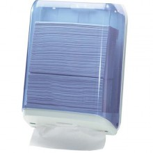 Dispenser Asciugamani Piegati Trasparente/Bianco Mar Plast