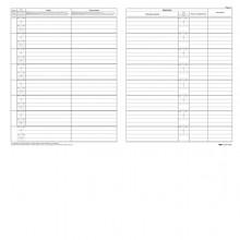 Registro Antiriciclaggio Per Professionisti 31X24Cm 46Fg E2174 Edipro