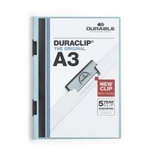 Cartellina Con Molla A3 Duraclip Blu 2218-06 Durable