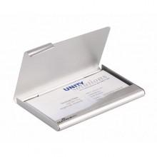 Porta Biglietti Visita In Alluminio Business Card Box