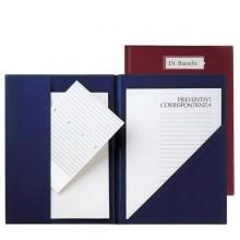 Cartella Con Tasche Compla 71 Blu In Colpan 23X33Cm