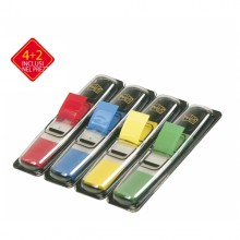 Pack 4+2 Blister 140 Index Mini In 4 Colori Classici