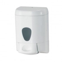 Dispenser A Muro 0,55Lt Bianco Per Sapone Liquido Plus Mar Plast