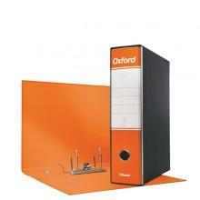 Registratore OXFORD G85 arancio dorso 8cm f.to protocollo ESSELTE (conf. 6 )