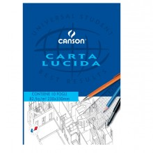 BLOCCO CARTA LUCIDA MANUALE 230x330mm 10FG 80GR CANSON (conf. 25 )