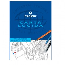 BLOCCO CARTA LUCIDA MANUALE 297x420mm 10FG 80GR CANSON (conf. 10 )