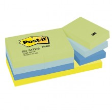 BLOCCO 100foglietti Post-it® 38x51mm 653-MTDR DREAM 72GR ASSORTITO (conf. 12 )
