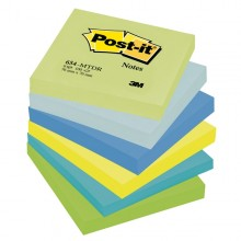 BLOCCO 100foglietti Post-it® 76x76mm 654-MTDR DREAM 72GR ASSORTITO (conf. 6 )