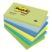 BLOCCO 100foglietti Post-it® 76x127mm 655-MTDR DREAM 72GR ASSORTITO (conf. 6 )