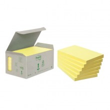 BLOCCO 100foglietti Post-it®Notes Green 76x127mm 655-1B GIALLO (conf. 6 )