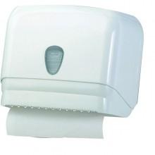 Dispenser Asciugamani In Rotolo/ Fogli Bianco Mar Plast