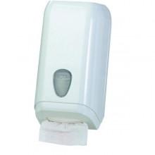 Dispenser Carta Igienica In Fogli Bianco Mar Plast