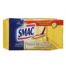 Pack 12 Panni Smac System Pavimenti E Multiuso