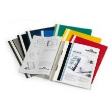 Cartellina A4 Ad Aghi Personalizzabile Bianco Duraplus 2579 (conf.25)