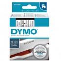 Nastro Dymo Tipo D1 (19Mmx7Mt) Nero/Trasparente 458000