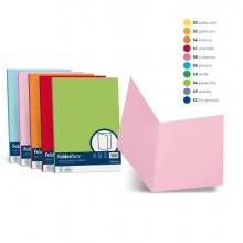 50 Cartelline Semplici Luce 200Gr 25X34Cm Mix 5 Colori Favini