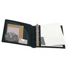 Raccoglitore Manager 4Anelli D30Mm A4 Maxi In Ppl Nero Exactive