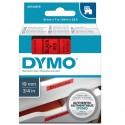 Nastro Dymo Tipo D1 (19Mmx7Mt) Nero/Rosso 458070