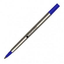 Blister 2 Refill In Metallo Per Roller Parker  Blu Punta Fine