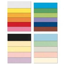 Conf.10 Cartoncino Bristol Color 200Gr 100X70Cm Celeste 08 Favini