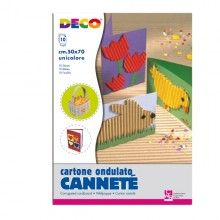 10Fg Cartoncino Ondulato 50X70Cm Nero Art 2206/7 Cwr