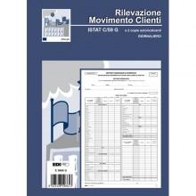 Blocco Modello Istat C59 Giornaliero 31X21Cm 50Fg 2Copie Ric E5966G Edipro