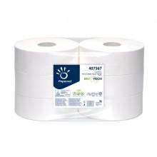 Carta Igienica Maxijumbo Microgoffrata 300Mt Biotech (conf.6)