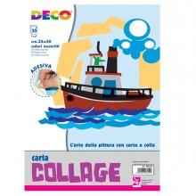 Album Carta Rasata Adesiva 35X50Cm 20Fg Colori Assortiti Cwr (conf.5)