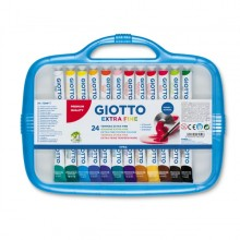 Box 24 Tubetti Tempera 12Ml Giotto Tubo 4 Assortito