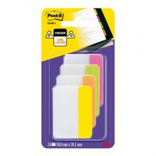 Blister 24 Post-It Index Strong 686-Ploy 50,8X38Mm X Archivio