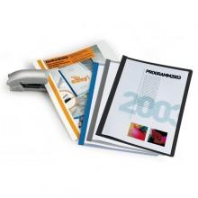 CARTELLINA A4 Durabind AZZURRO per RILEGATURA A PUNTI 2250 DURABLE (conf. 25 )