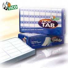 Scatola 6000 Etichette Adesive Tab1-0892 89X23,5Mm Corsia Singola Tico