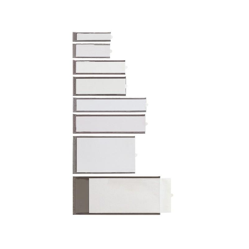10 Portaetichette Adesive Ies B1 16X63Mm Sei