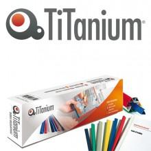 50 Dorsi Rilegafogli 4Mm Bianco Titanium