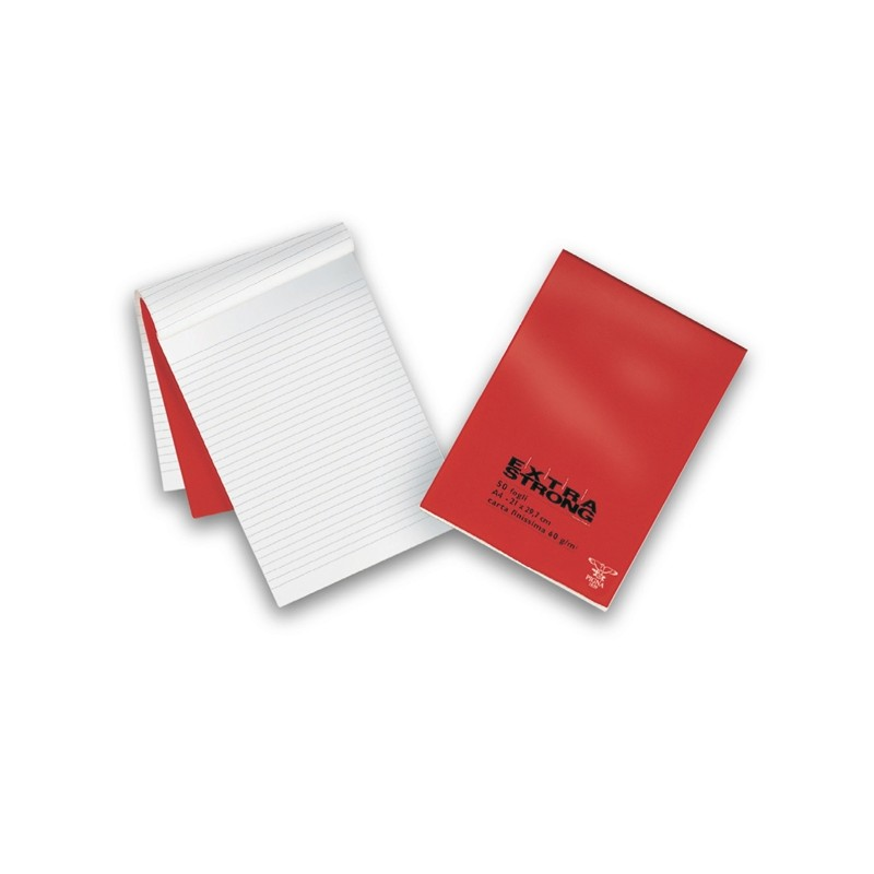 BLOCCO EXTRA STRONG 210X297MM bianco 50FG 60GR PIGNA (conf. 10 )