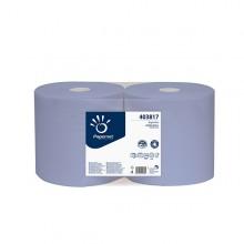 Bobina Puliunto Blu Superior Microgoffrato 500 Strappi - 190Mt (conf.2)