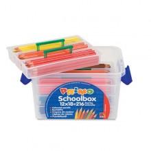 Schoolbox 216 Pastelli Colorati 100 Fsc In 12 Colori Primo