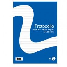 Fogli Protocollo A4 60Gr 20Fg 1Rigo Bm