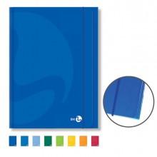 CARTELLA 3 LEMBI C/ELASTICO 25,5x35cm COLOR colori assortiti BM (conf. 10 )