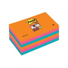 BLOCCO 90foglietti Post-it®Super Sticky 76x127mm 655-6SS-EG BANGKOK (conf. 6 )