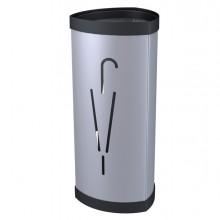 Portaombrelli In Metallo Silver H60Cm Alba