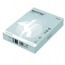 Carta Maestro Color A4 210X297Mm 160Gr 250Fg Azzurro Tenue Bl29 Mondi