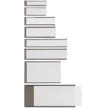 6 Portaetichette Adesive Ies A3 32X124Mm Sei